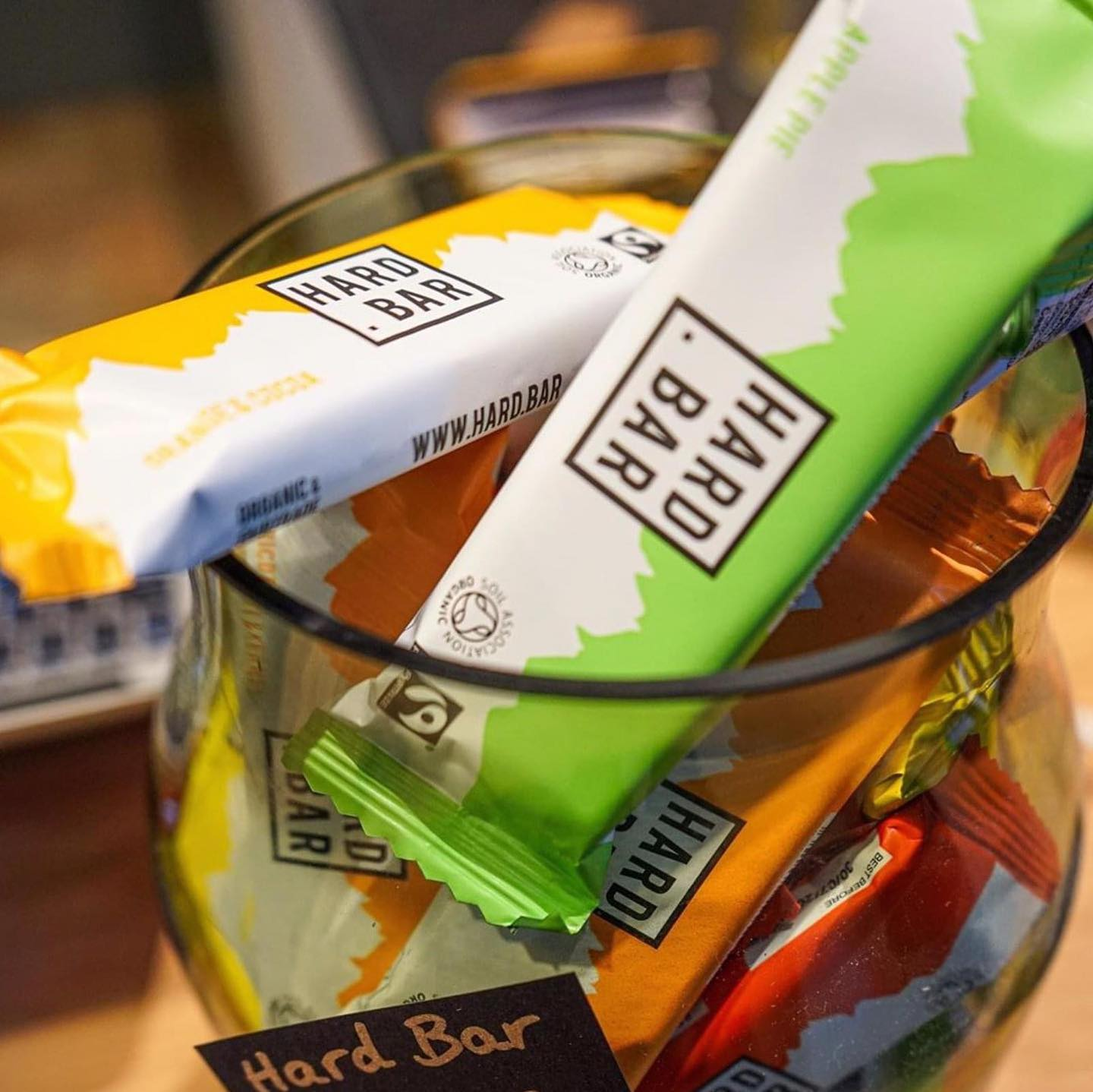 We're so excited to be offering Vegan, Ethical, Plastic-Negative Hard Bars at our checkpoints thi...