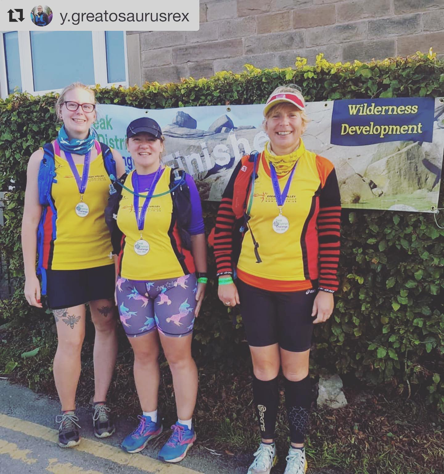 Repost from @y.greatosaurusrex - an awesome effort from these ladies ⛰ ・・・ Came home with more fo...
