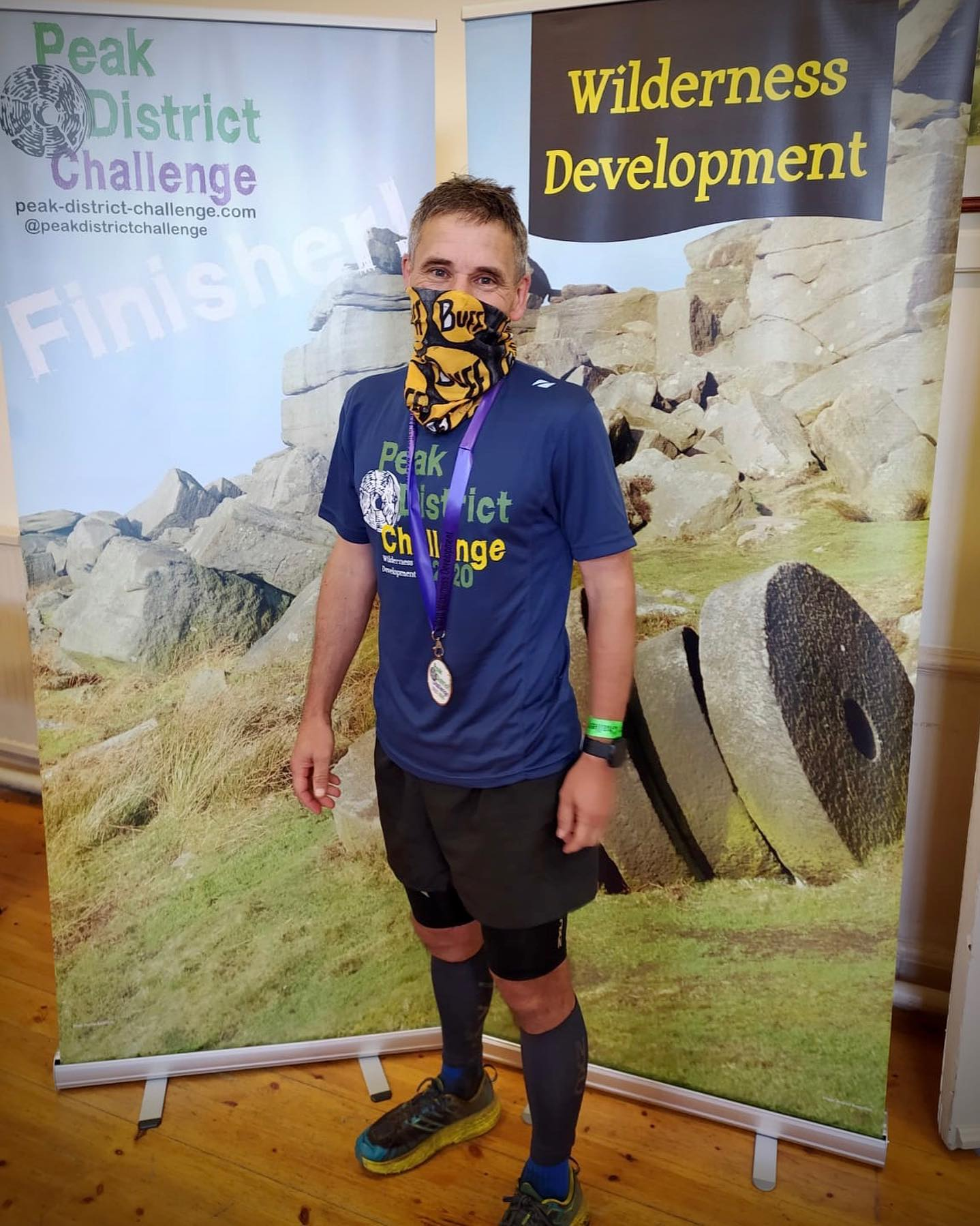 A massive well done to Simon Martland, this year's Gold Ultra 100km winner in a time of 14 hours ...