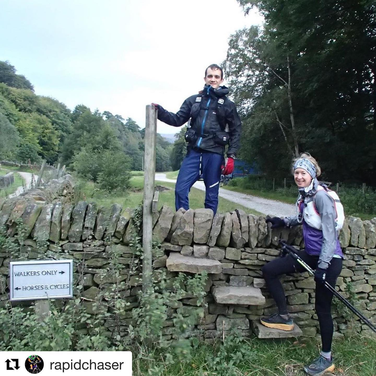 Repost from @rapidchaser with this shot from their 100km Challenge ⛰🥾⛰ #peakdistrictchallenge   A...