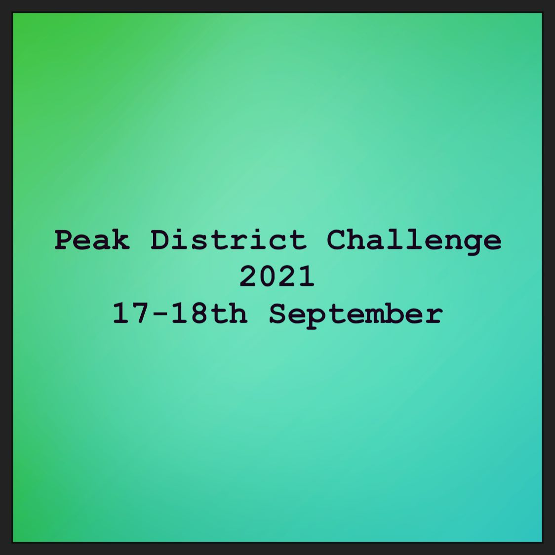 Blisters healed? Legs recovered? Great work! Now pop your Peak District Challenge 2021 date in yo...
