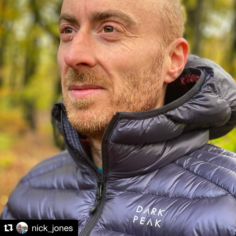 Repost @nick_jones  Loving my new @dark.peak down jacket that I won at the 75km Peak District Cha...
