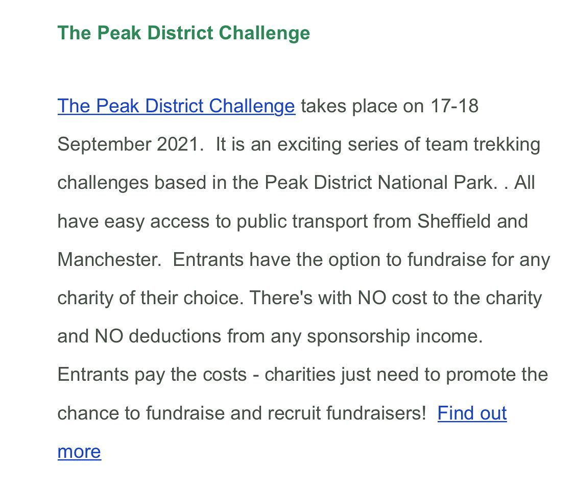 Thank you to www.animalscharities.co.uk for this lovely blog post about the 2021 Peak District Ch...