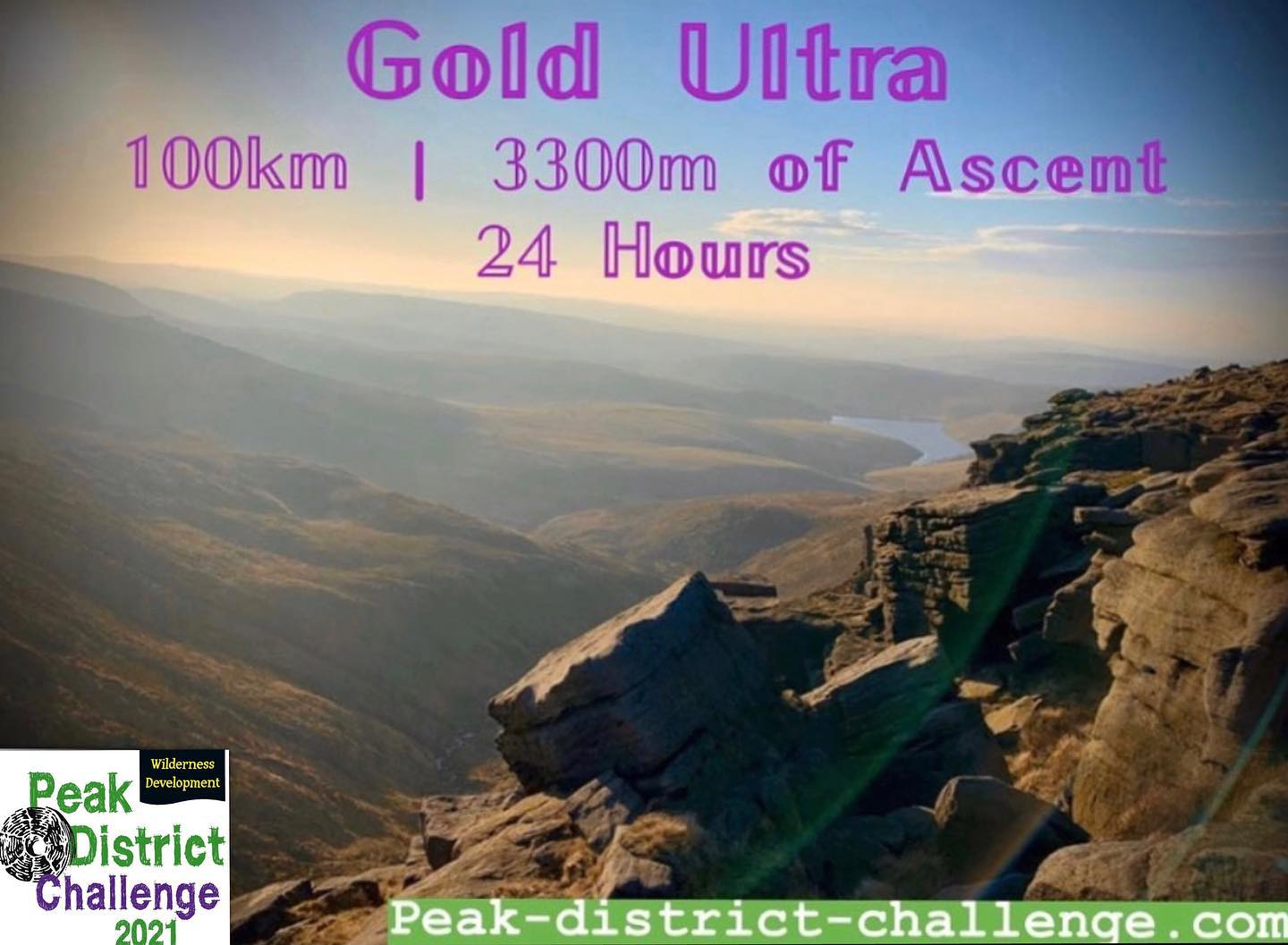 Taking part in this year's Peak District Challenge Gold Ultra 100km route will give you 4 qualify...
