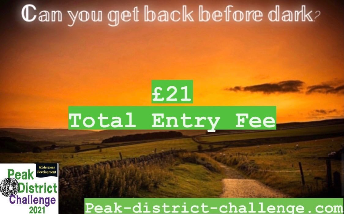 Register now for the Peak-District-Challenge.com 10km back Before Dark Challenge for only £21 in ...