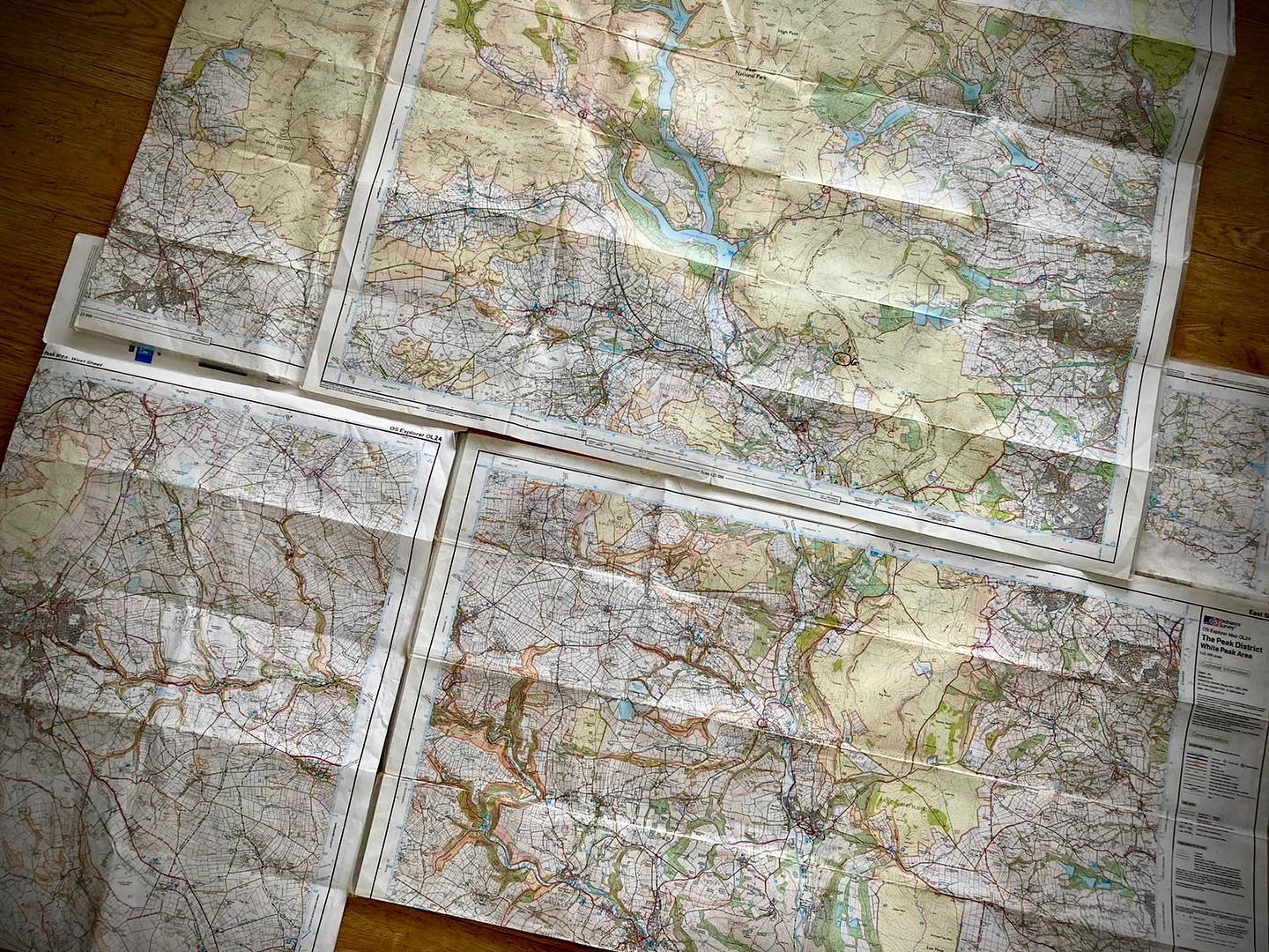 Anyone else's floor look like this when they're planning routes??   GPX waypoint files showing ch...