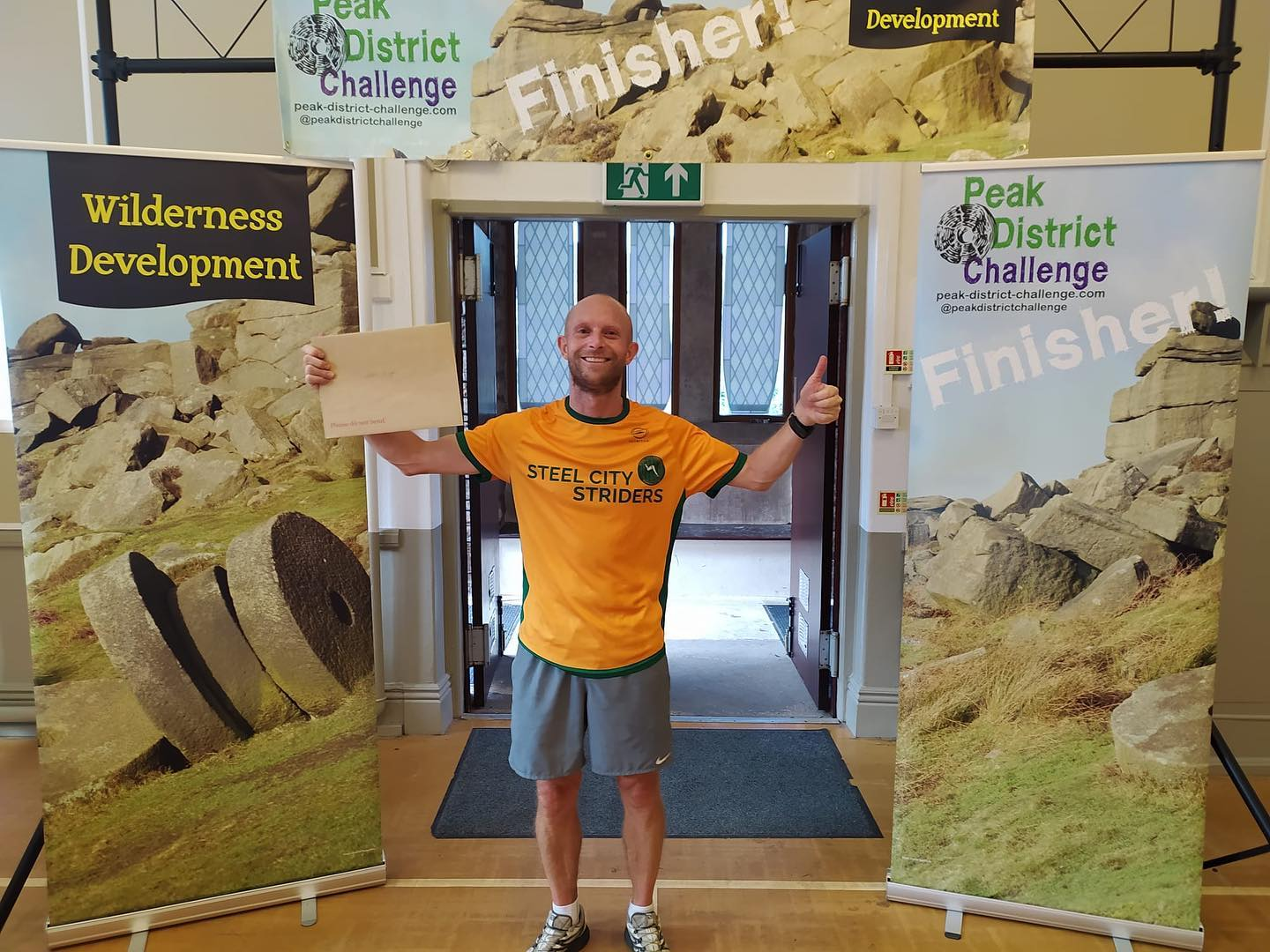 Well done to Darren Barnett for a time of 02:27:19 on the Peak District Challenge Copper, scythin...